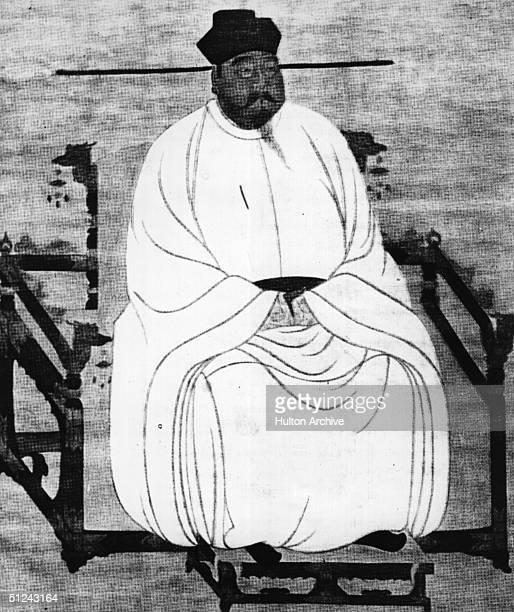 Circa 961 AD, Emperor T'ai Tsu , first Emperor of the Sung Dynasty.