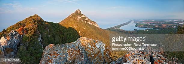 circeo national park - parco nazionale foto e immagini stock