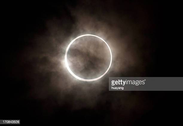 circle eclipse - eclipse stock pictures, royalty-free photos & images