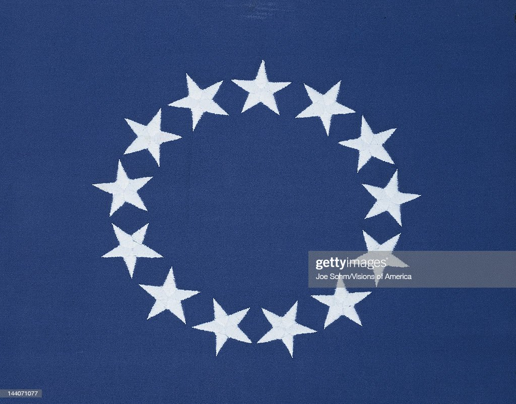 Circle of 13 stars on original american flag pictures getty images circle of 13 stars on original american flag publicscrutiny Choice Image