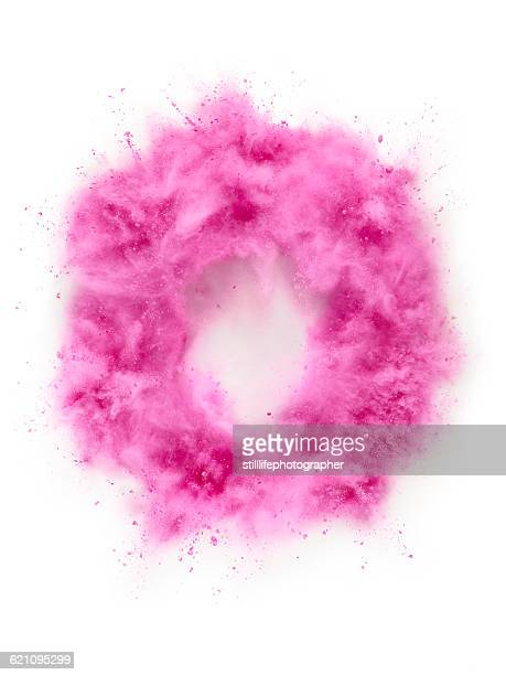 Circle Powder Explosion