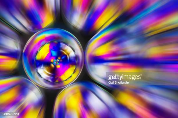 Circle Radiating Abstract