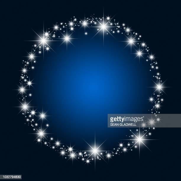 circle stars - star shape stock pictures, royalty-free photos & images