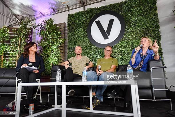 Circle V Festival Vegan panel at the Fonda Theatre on October 23 2016 in Los Angeles California