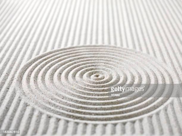 Cercles et lignes de sable