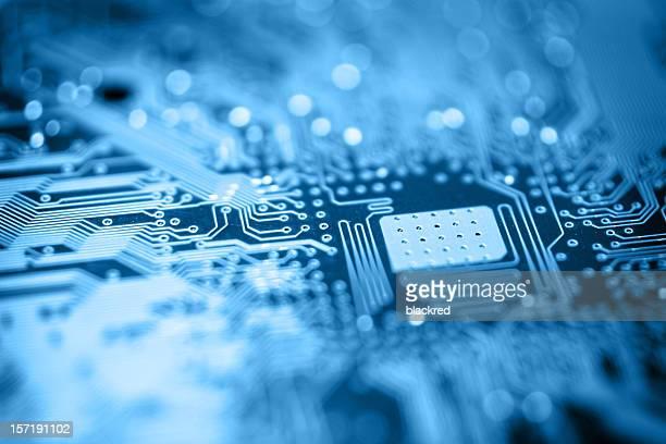 Circuit Board-Blau