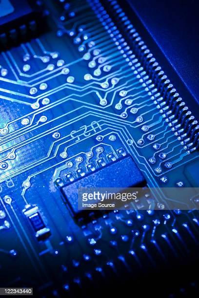 Circuit board, close up