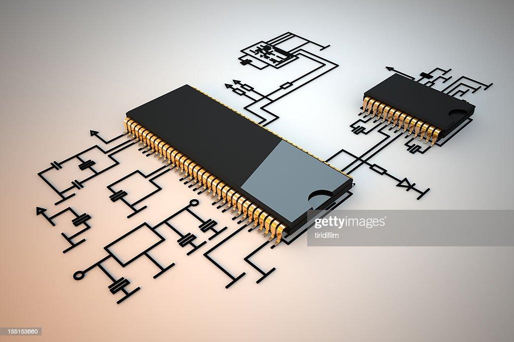 Circuit Board : Stockfoto