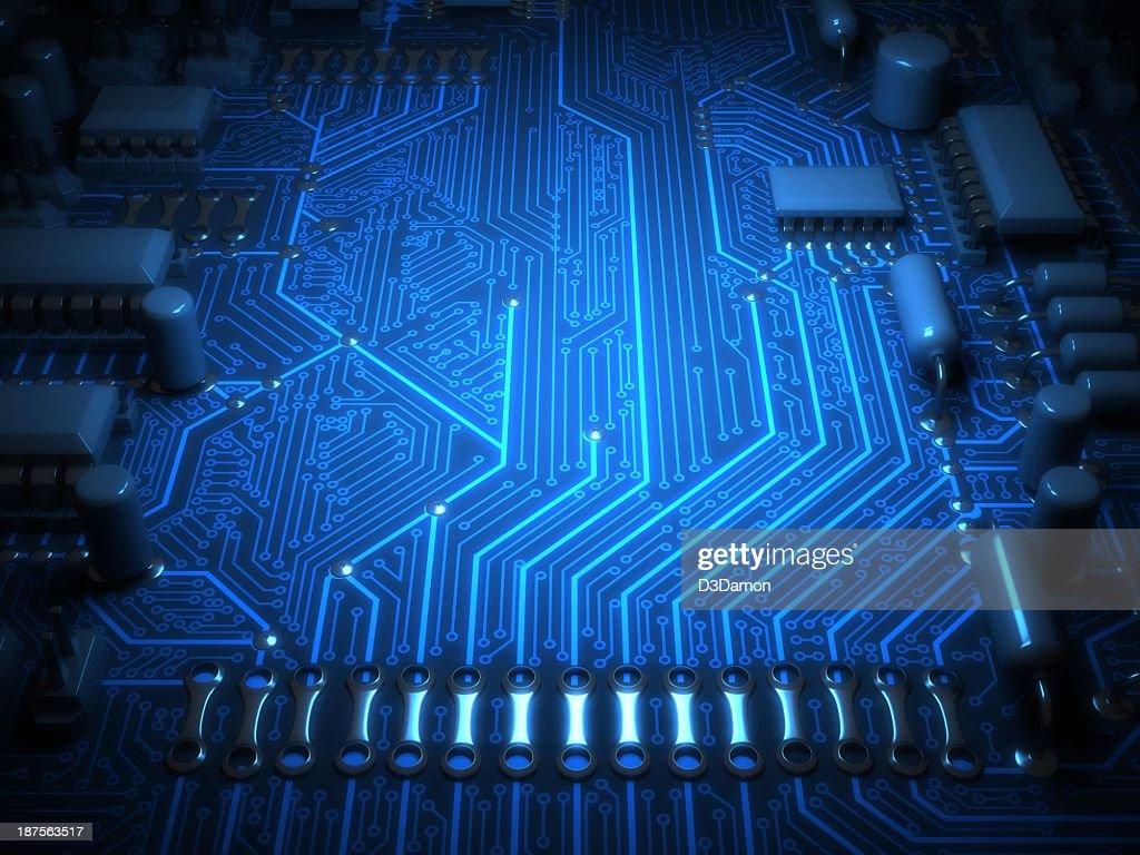 Circuit Board : Stock Photo
