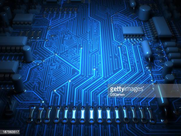circuit board - computer chip stock pictures, royalty-free photos & images