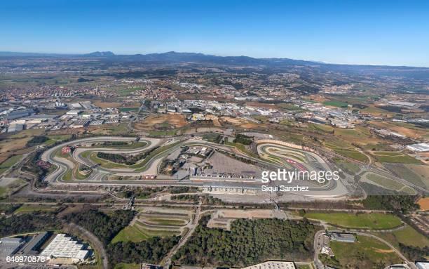 circuit de barcelona-catalunya. - katalonien stock-fotos und bilder