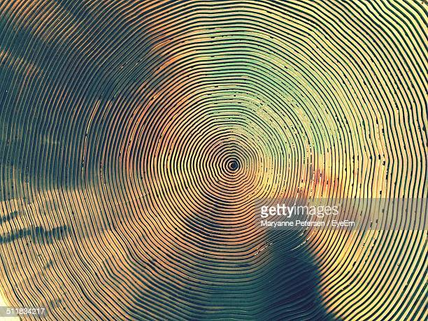Circular abstract background