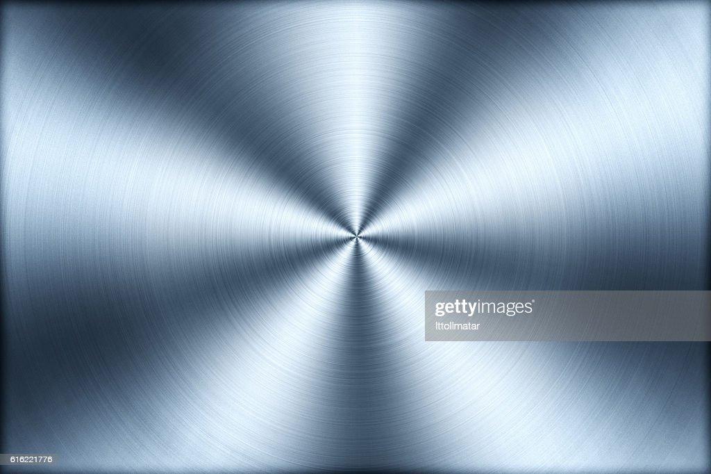 Circular brushed metal texture background,illustration : Stock-Foto