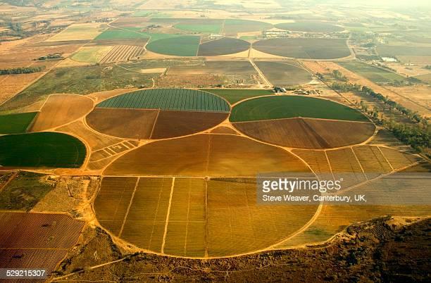 Circular Crop Fields