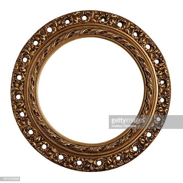 Circular decorative frame