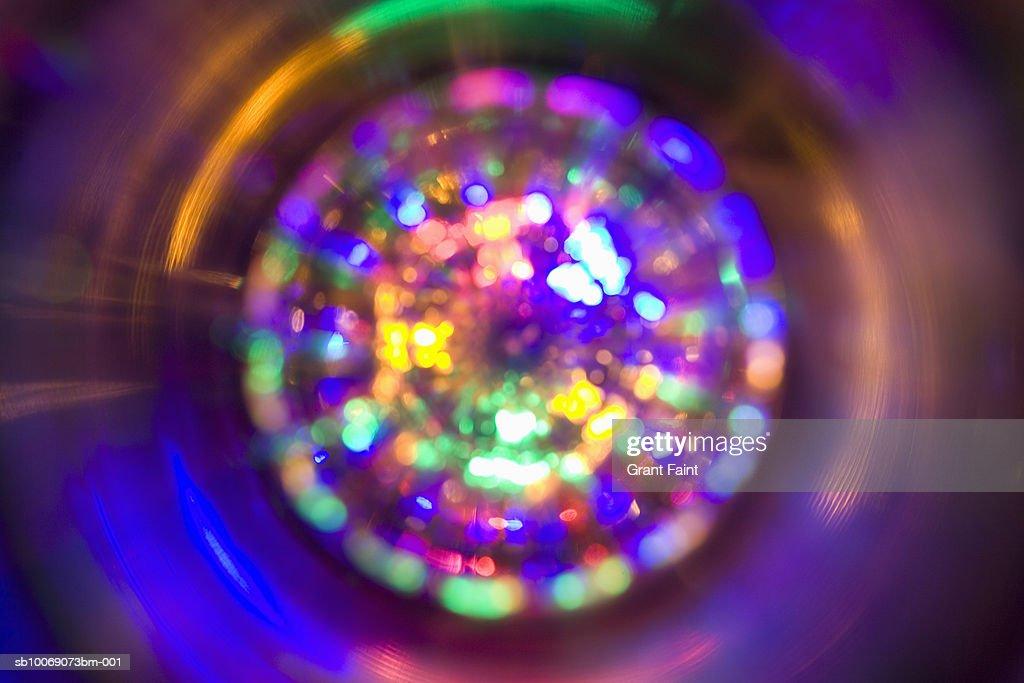 Circular light pattern, studio shot : Stockfoto
