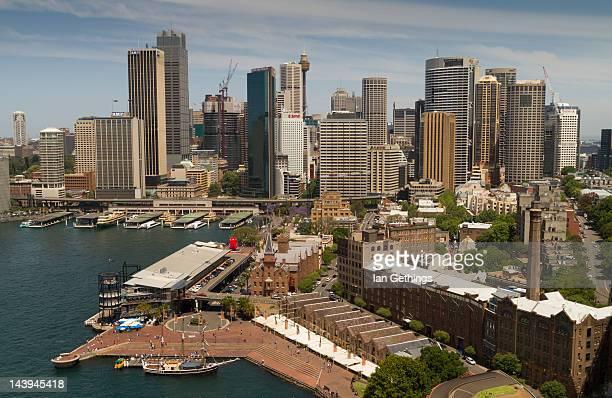 Circular Quay and The Rocks in Sydney