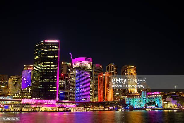 Circular Quay at Night, Sydney, Australia
