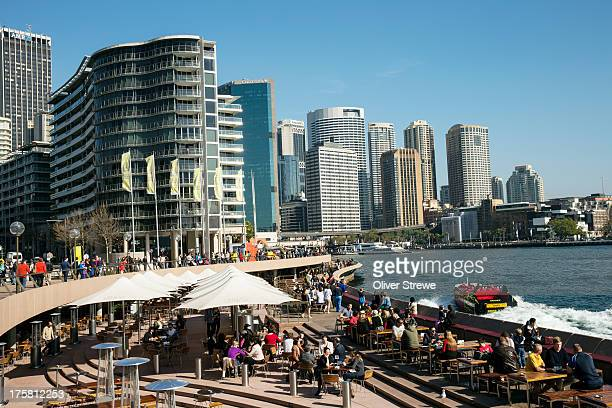 circular quay, sydney - hub stock pictures, royalty-free photos & images