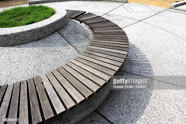 Marvelous Worlds Best Curved Wooden Bench Stock Pictures Photos And Cjindustries Chair Design For Home Cjindustriesco