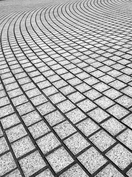 Circularly-arranged tiles
