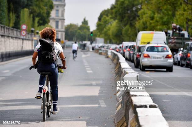 Circulation Quai des Tuileries 7 septembre 2017 Paris France