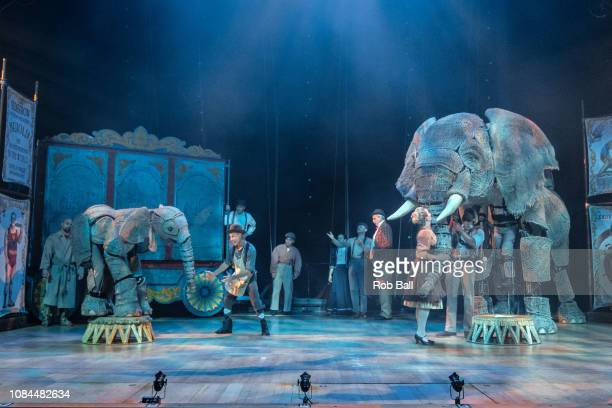 Circus 1903 at The Royal Festival Hall on December 19 2018 in London England
