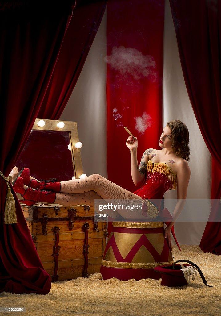 circus entre bastidores : Foto de stock