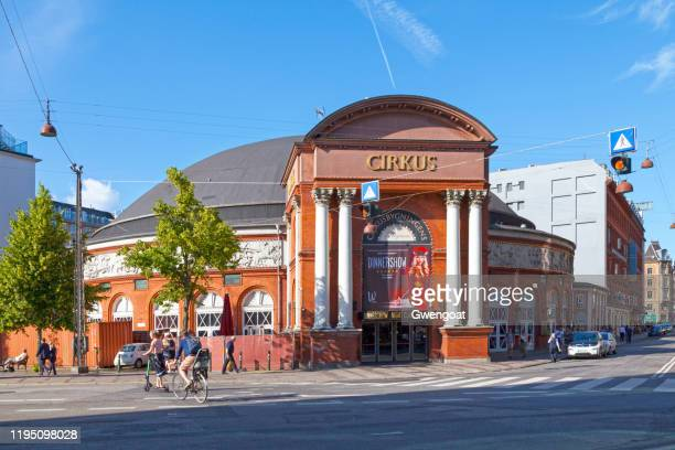 circus building in copenhagen - gwengoat stock pictures, royalty-free photos & images