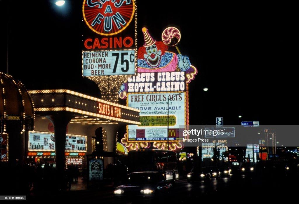 Circus Circus Casino Circa 1981 In Las Vegas News Photo Getty