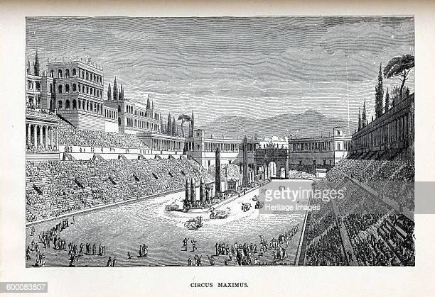 Circus Maximus, 1882. Private Collection. Artist : Anonymous.