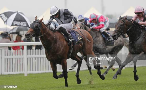 Circus Maximus and Ryan Moore winning the St James Palace Stakes during day one of Royal Ascot 2019 at Ascot Racecourse on June 18th 2019 in Berkshire
