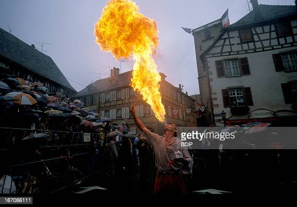 Circus performer Alsace France