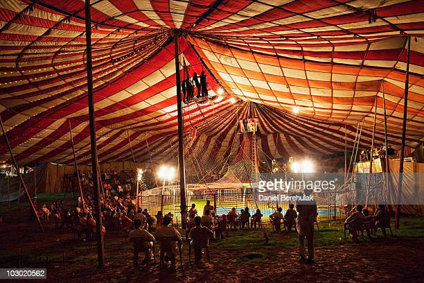 Circus performers from the Jan Baz troupe perform during their show on July 21 2010 in Islamabad Pakistan The Jan Baz Circus is performing as part of...