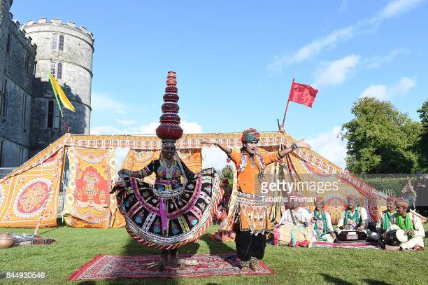 Circus Raj perform on Day 3 of Bestival at Lulworth Castle on September 9 2017 in Wareham England
