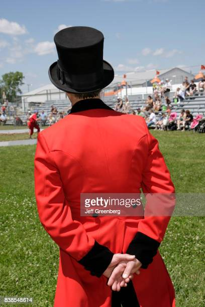 A circus ringmaster at The Ultimate Kid Fest