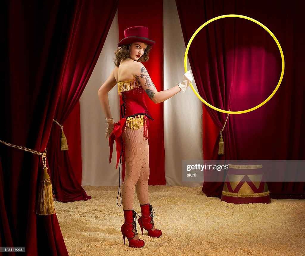 circus ringmaster : Stock Photo