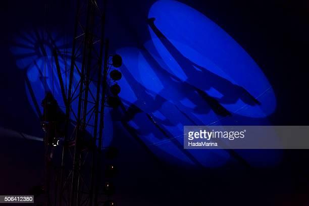 Circus shadow