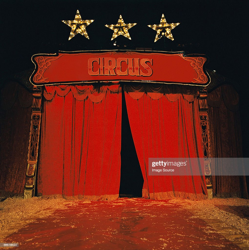 Circus stage : Foto stock