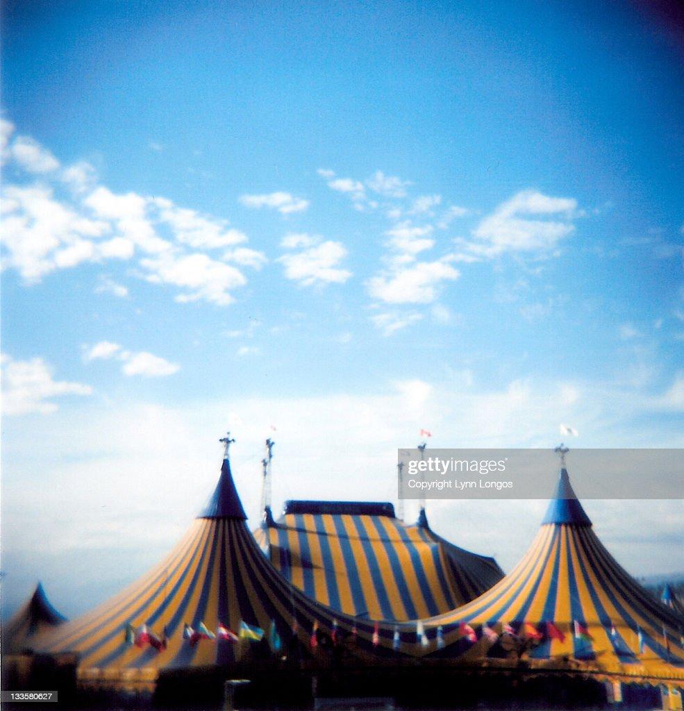 Circus tent : Foto de stock