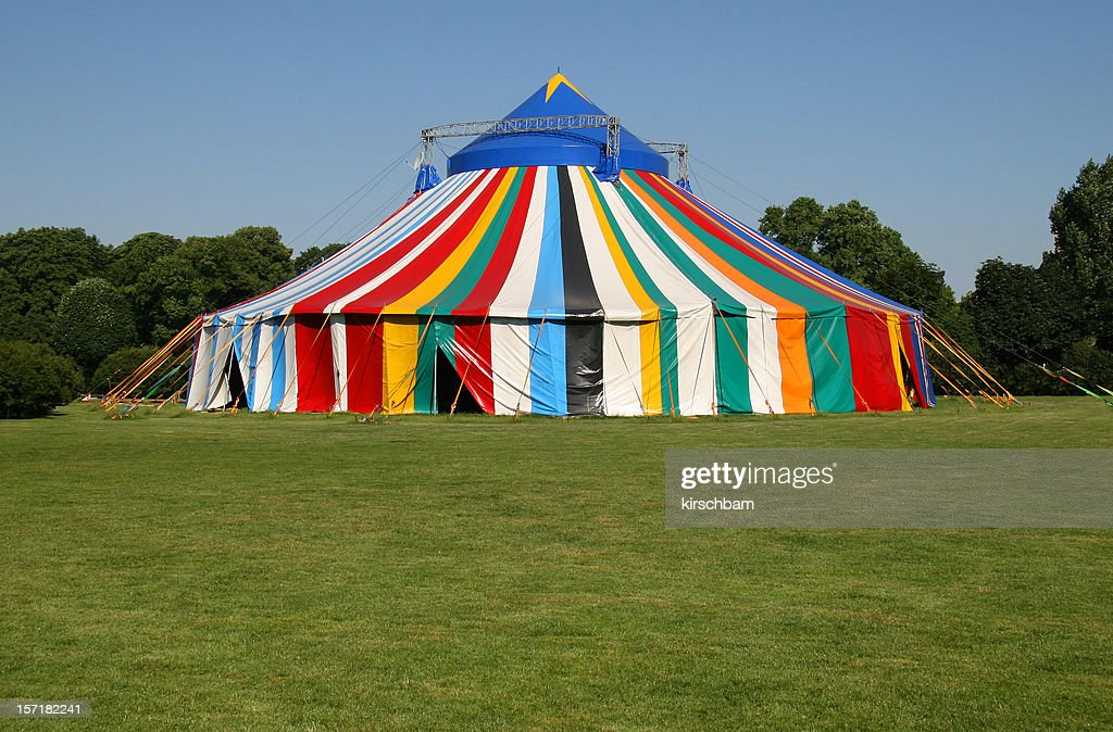Circus Tent & Circus Tent Stock Photos and Pictures |
