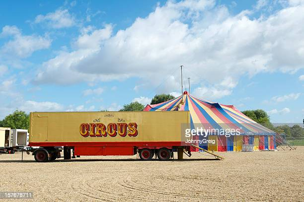 Circus truck and Big Top