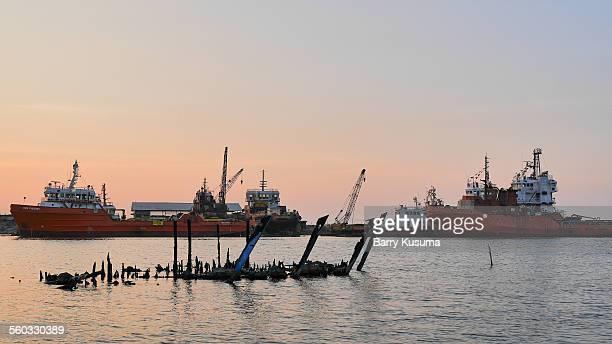 cirebon west java indonesia - barry crane stock-fotos und bilder