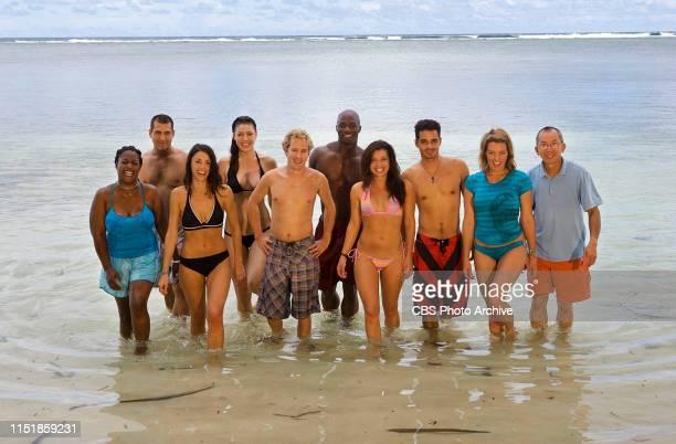 Cirie Fields Jonathan Penner Eliza Orlins Amanda Kimmel Jonny Fairplay James Clement Parvati Shallow Ozzy Lusth and YauMan Chan are the 10 castaways...