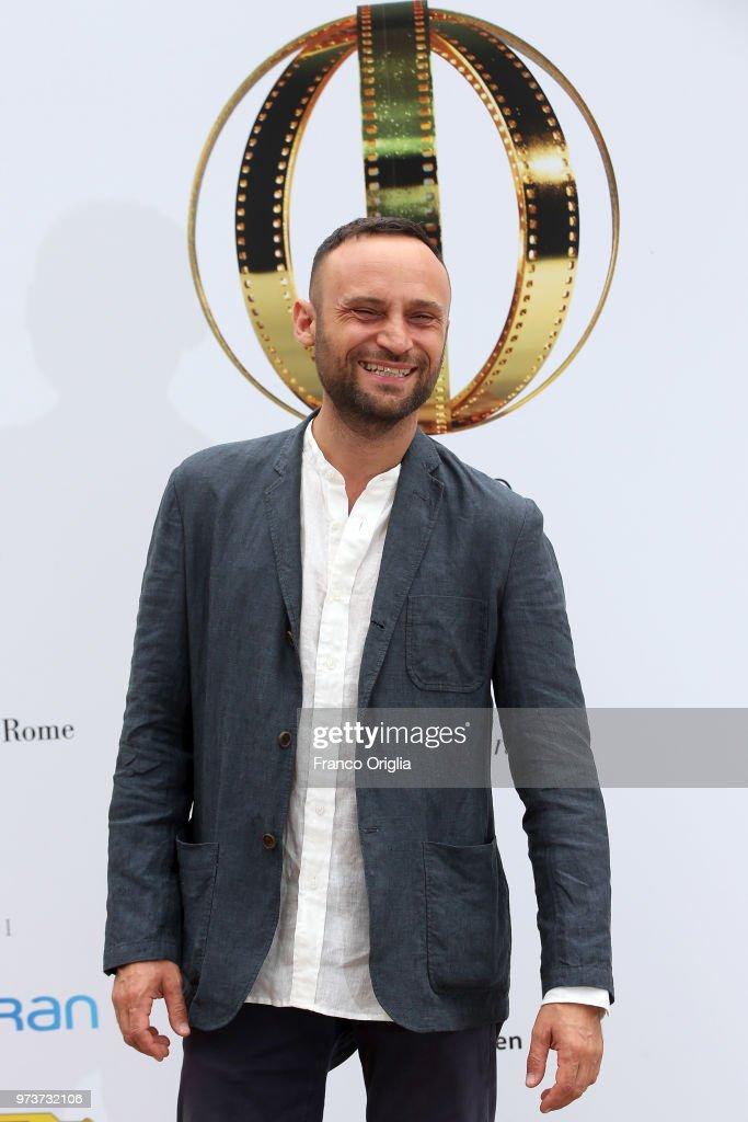 Ciro Formisano attends Globi D'Oro awards ceremony at the Academie de France Villa Medici on June 13, 2018 in Rome, Italy.