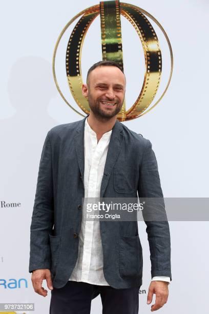 Ciro Formisano attends Globi D'Oro awards ceremony at the Academie de France Villa Medici on June 13 2018 in Rome Italy
