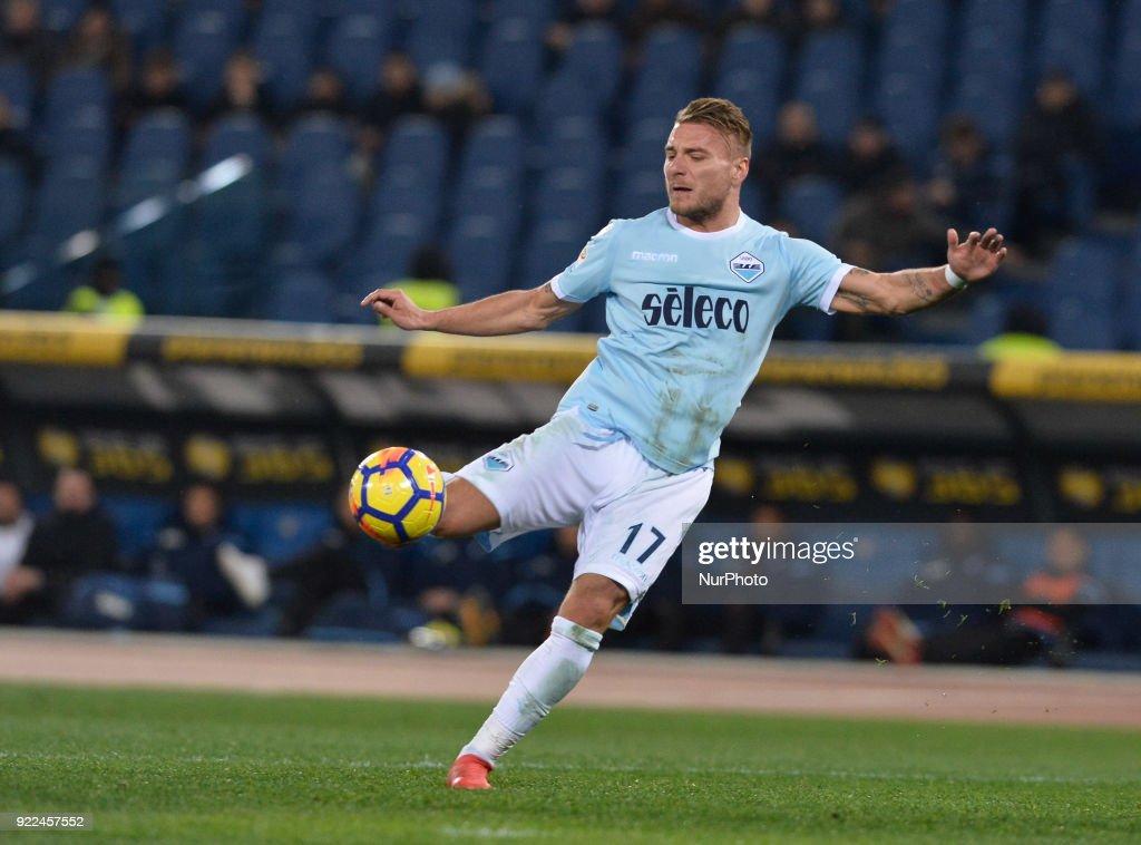 SS Lazio v Hellas Verona FC - Serie A : Nachrichtenfoto
