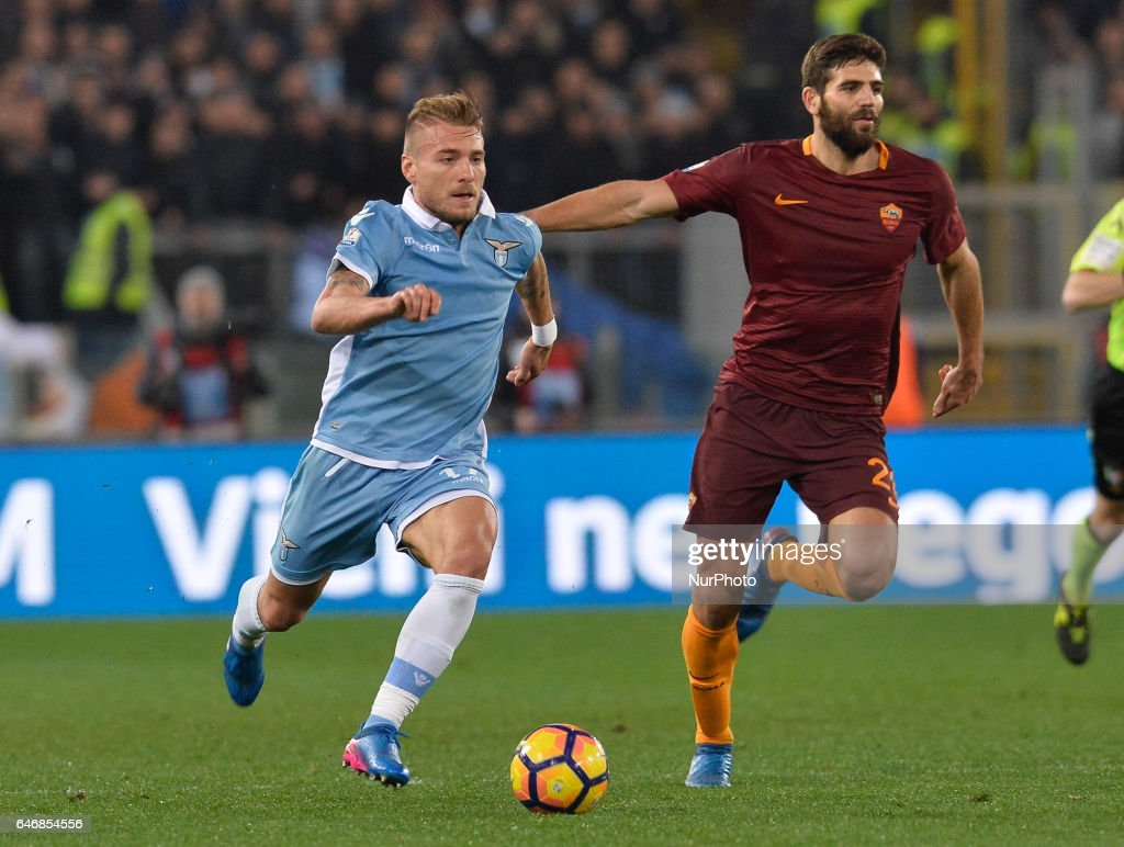 SS Lazio v AS Roma - TIM Cup : News Photo