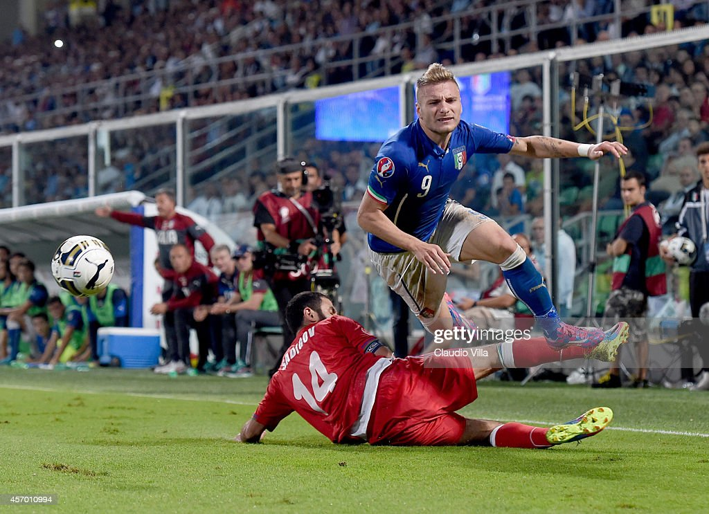 Italy v Azerbaijan - EURO 2016 Qualifier