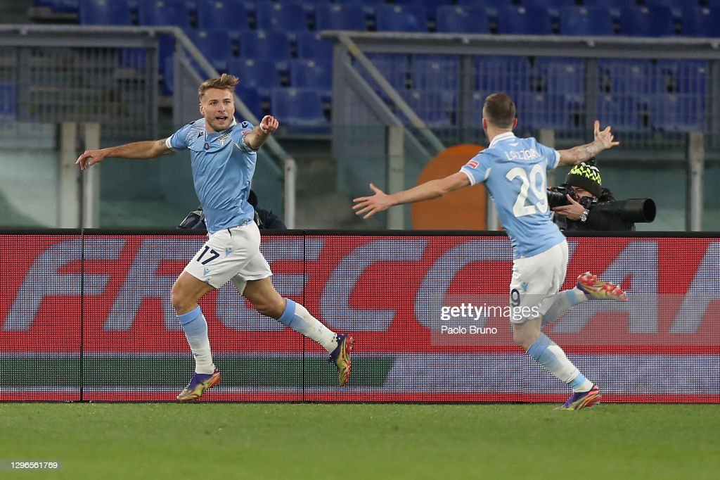 SS Lazio v AS Roma - Serie A : ニュース写真